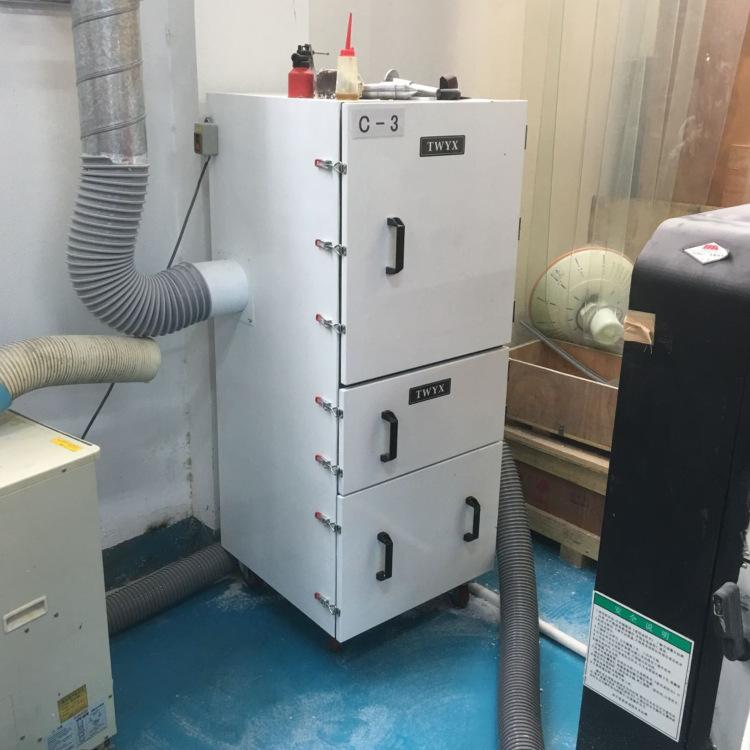 厂家直销 万能磨床粉尘收集工业集尘器  吸扬尘 浮尘柜式吸尘器示例图8