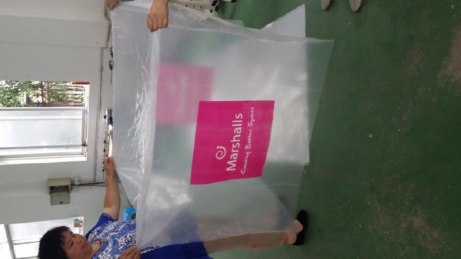 厂家销售pe防静电环保立体袋