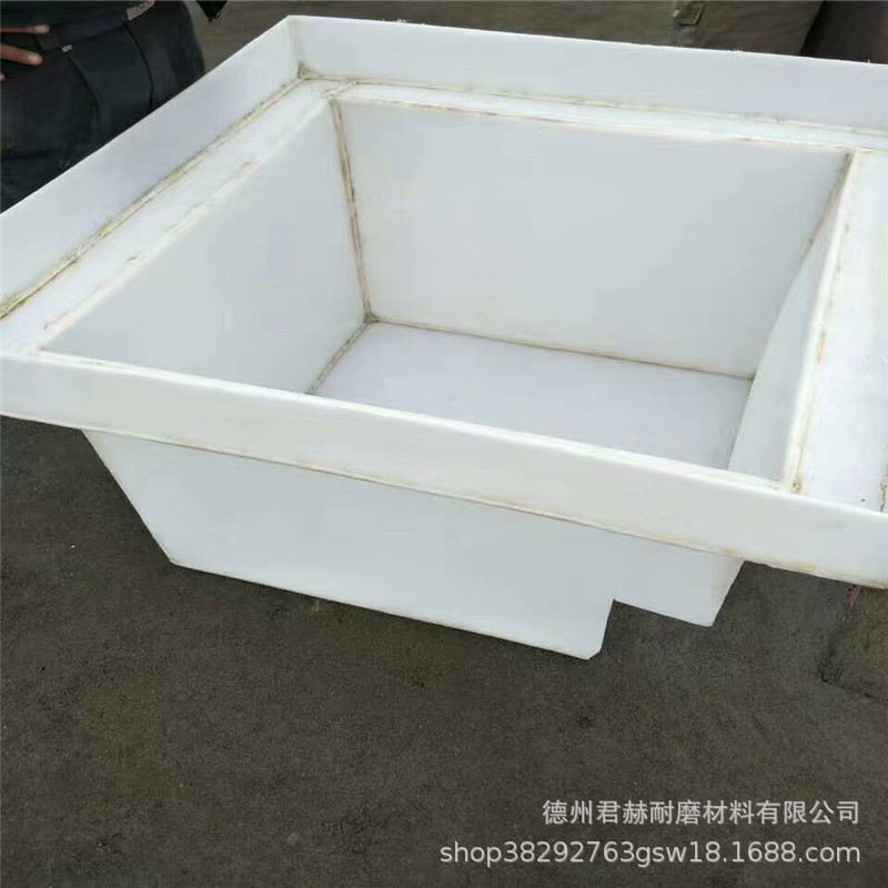 易焊接白色聚丙烯板 耐酸碱耐腐蚀pp PE板材 电镀槽定做水箱示例图8