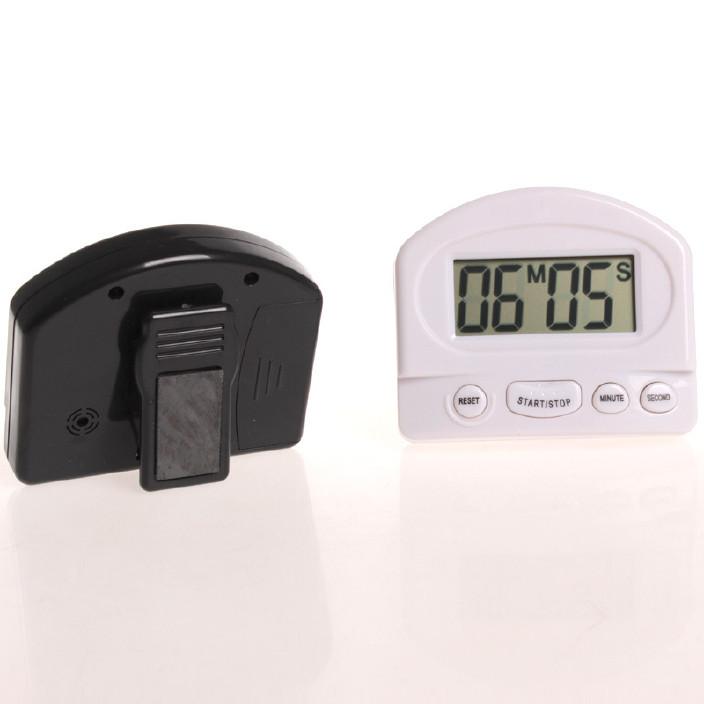 廚房定時器提醒器 大屏幕鬧鐘秒表 正倒計時器 蒸煮電子計時圖片