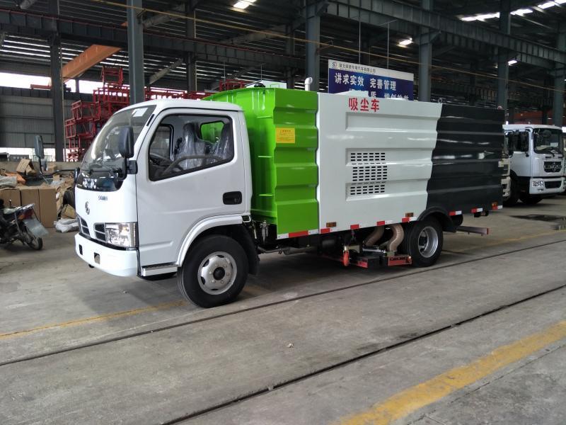 厂家供应国六东风多利卡程力威牌CLW5070TSLE6扫路车 环卫扫路车厂家直销示例图2