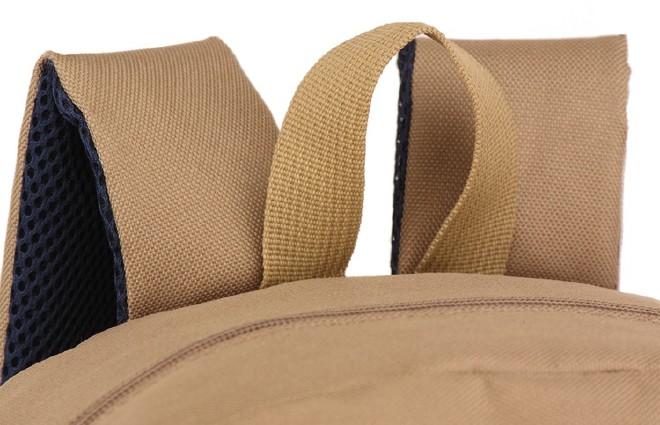 2016新款简约纯色双口袋背包 时尚休闲款运动包学生书包直销示例图34