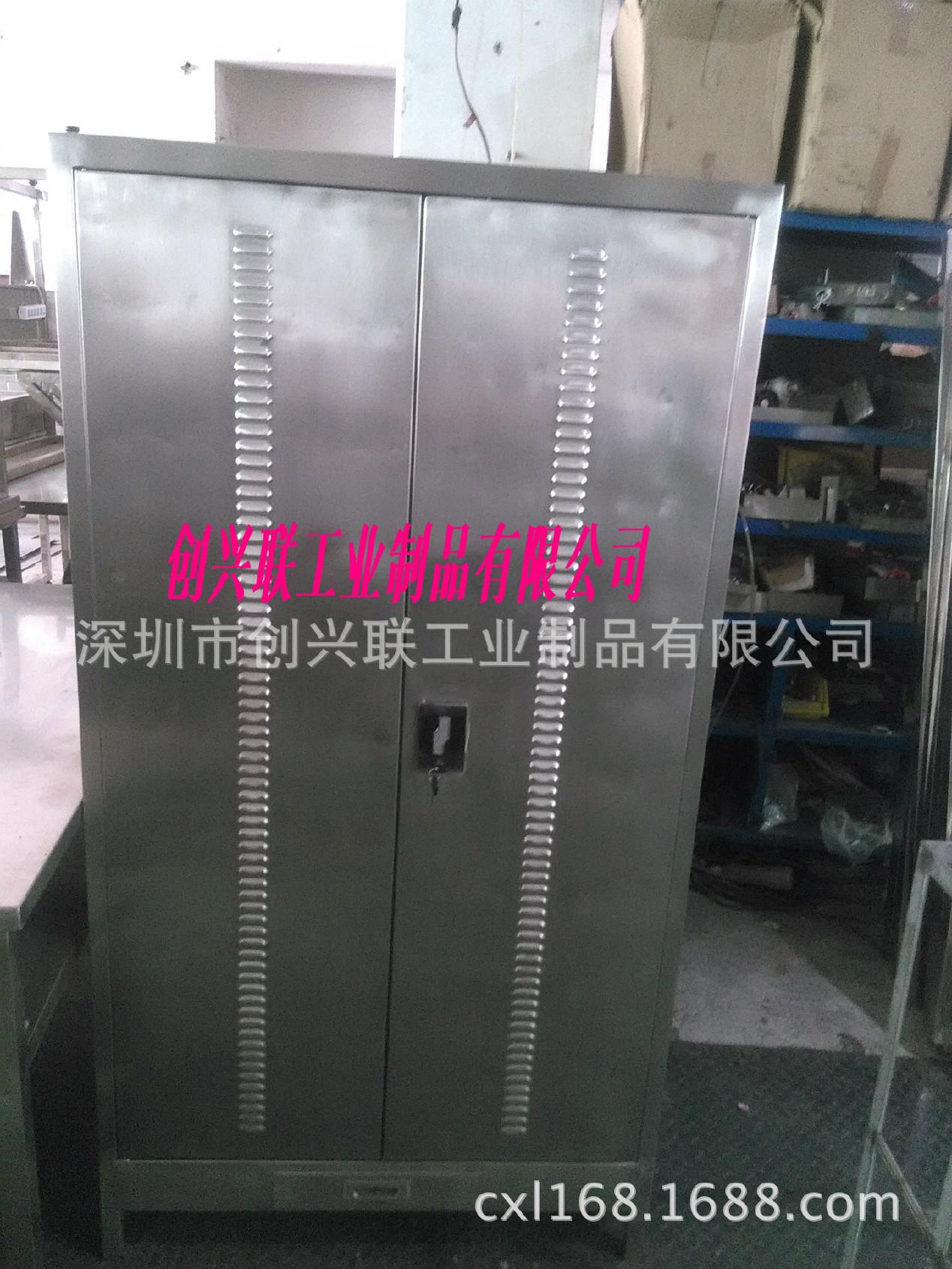 供应304不锈钢储物柜 不锈钢文件柜 深圳不锈钢柜子