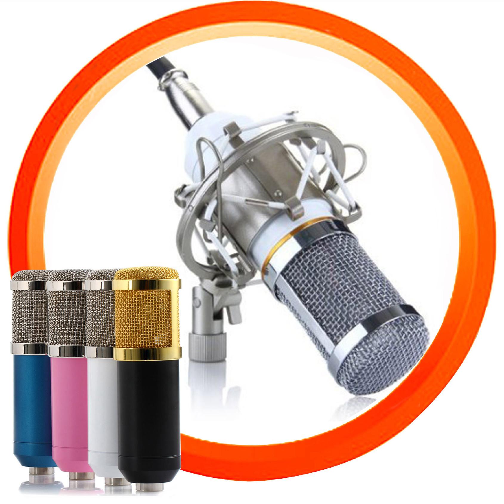 电容麦克风BM800主播振膜录音麦电脑麦克风跨境厂家批发OEM话筒图片