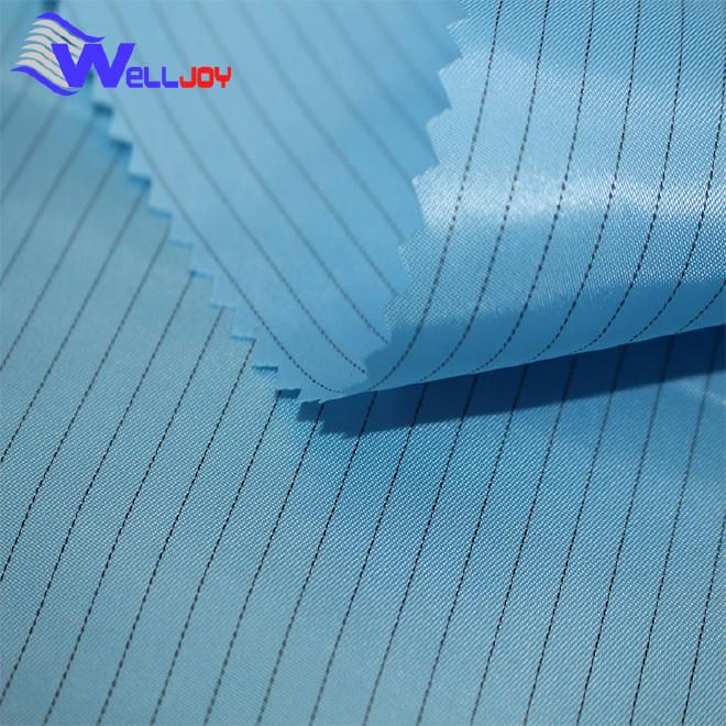 廠家供應滌塔夫防靜電功能性面料 工裝布服裝功能性面料加工定制圖片