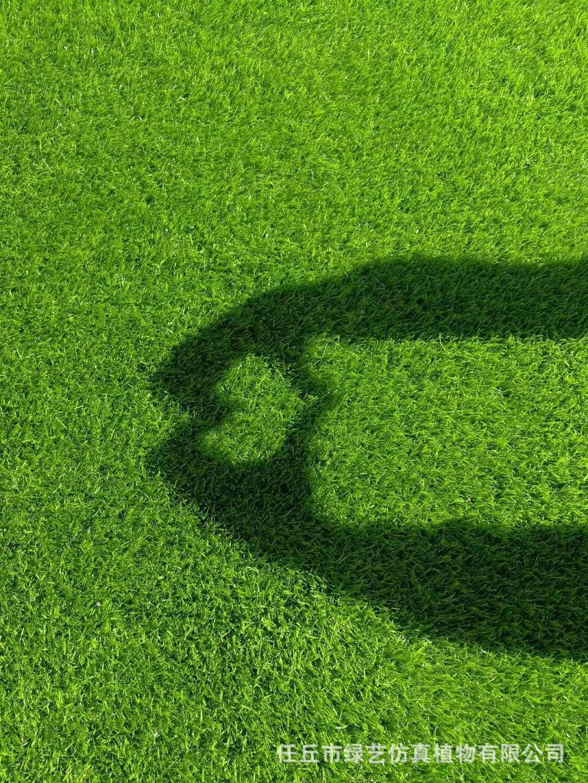 供應幼兒園專用加密仿真草坪 足球場草坪 樓頂綠化草坪示例圖10