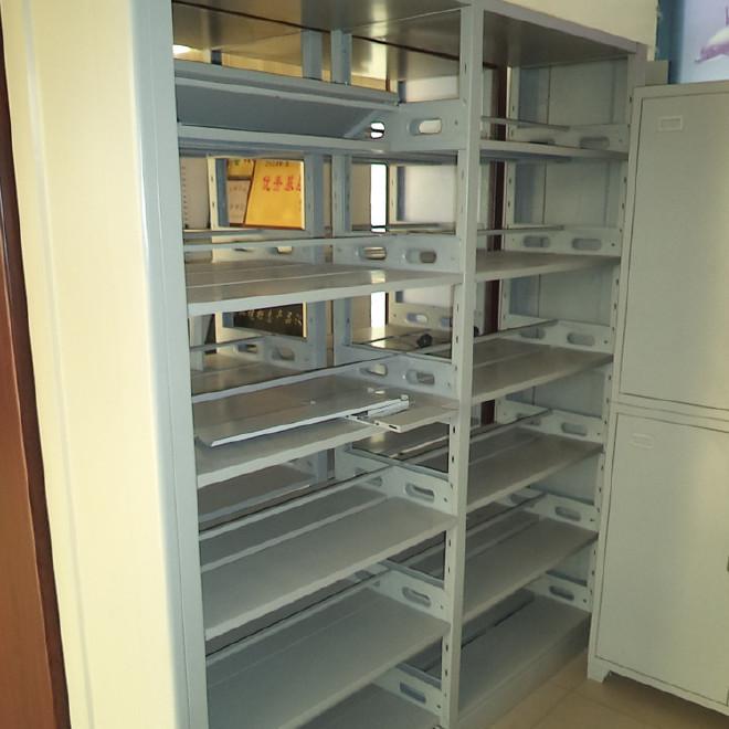 钢制书架木侧板书架子高档书架档案室架子密集架子档案架子