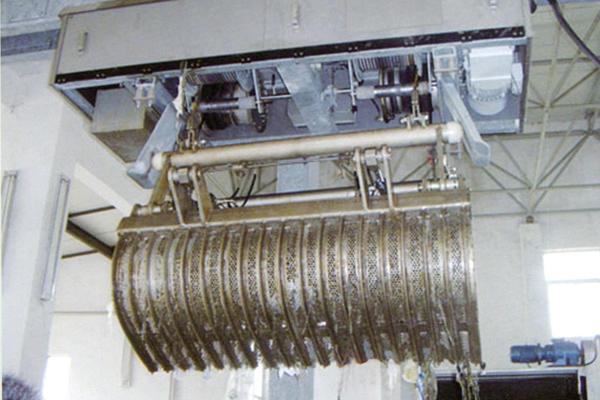 江苏弘鑫牌回转式清污机 ,不锈钢回转式清污机,碳钢回转式清污机示例图12