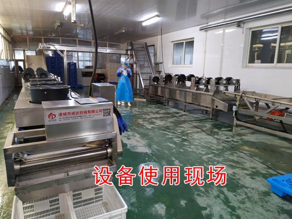 诸城市诚达千页豆腐机器 千页豆腐生产线机器 做千页豆腐的机器示例图9