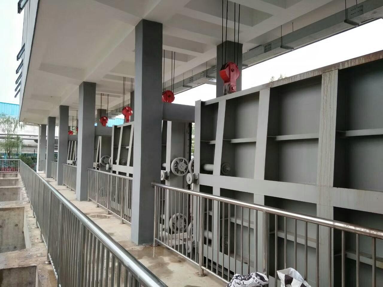 弘鑫水利 定制钢闸门 渠道钢闸门 平面型钢闸门示例图12