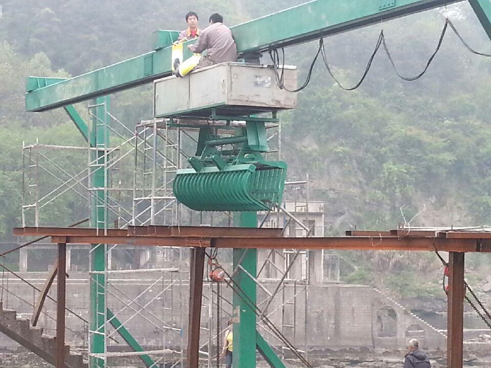 专业制造水电站清污机 抓斗清污机 回转式清污机 质量有保障示例图4
