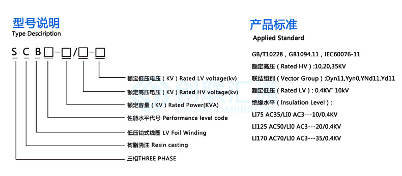 SCB10-250kva/10kv干式变压器 scb10型环氧树脂浇筑 厂家现货直销-创联汇通示例图8
