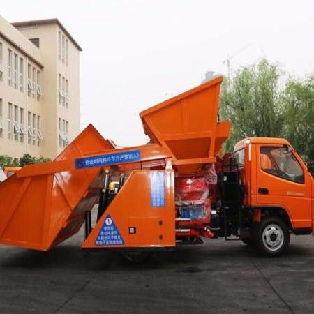喷浆车生产厂家     喷浆车操作规范