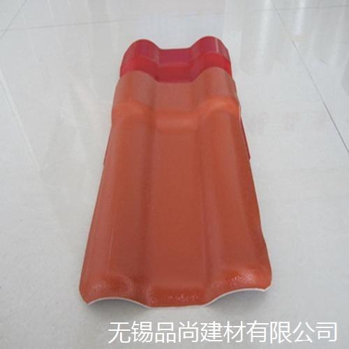上海asa树脂瓦 农村洋房平改坡树脂瓦 钢结构合成树脂瓦
