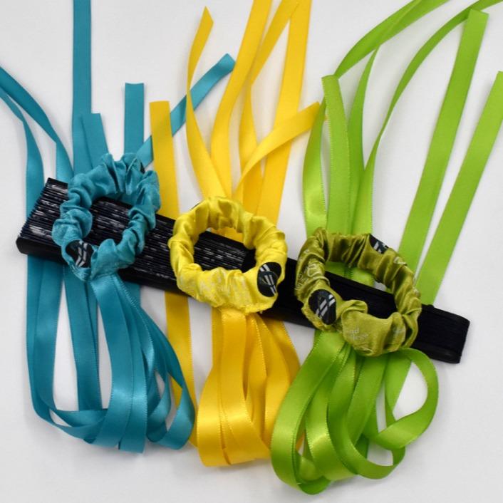 感恩节丝带 手腕应援捆绑公益手环 圣诞节活动材料系发绳装饰配饰