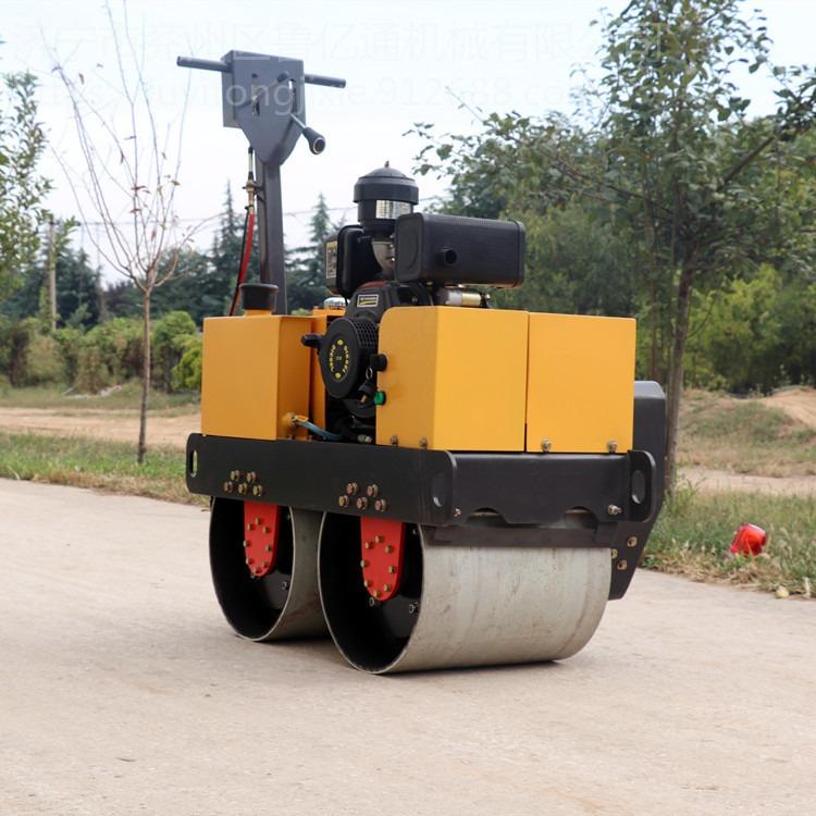 咸阳供应小型压路机 手扶双钢轮振动压路机 LYT-450双轮振动碾