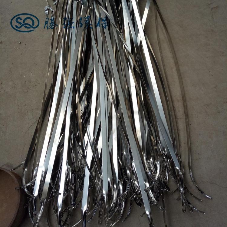 不銹鋼304喉箍 鋼帶抱箍 卡箍 美式抱箍管件 勝強環保 型號齊全圖片