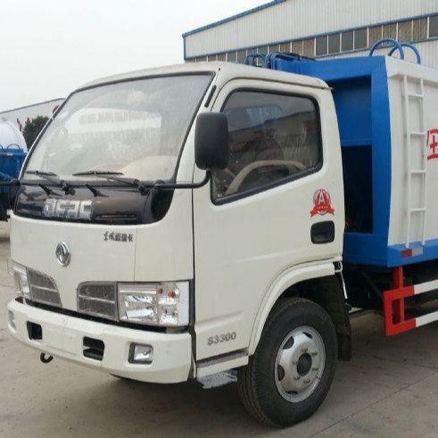東風多利卡5方壓縮垃圾車生產廠家批發價格藍牌