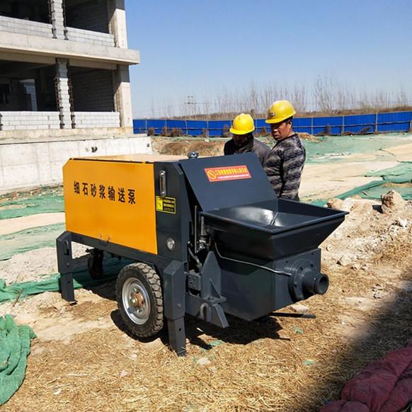 NY-20细石混凝土输送泵 二次结构浇筑机 混凝土输送泵 液压二次构造柱泵 上料机