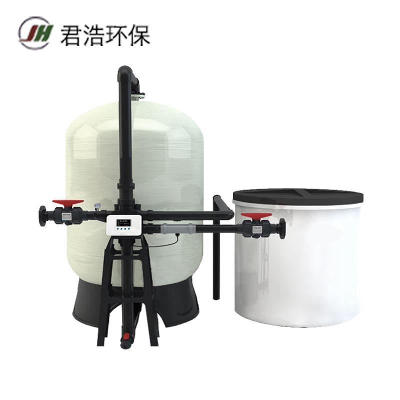 全自动锅炉软水器 君浩软化水处理设备 大型软化水设备厂家图片