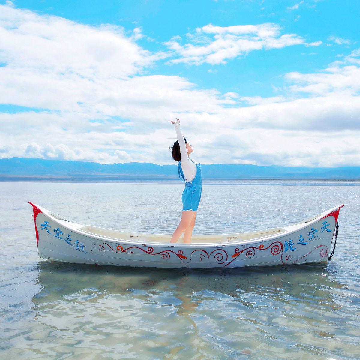 出售4米景观木船 户外人工湖装饰船 两头尖欧式木船