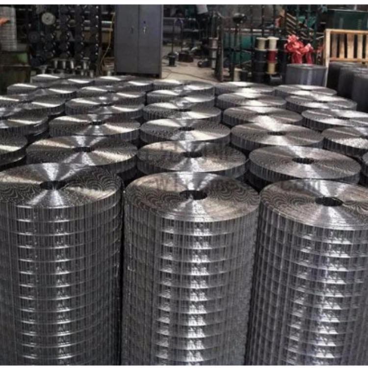 万隆电焊网厂生产低碳镀锌钢丝网不锈钢轧花电焊网镀锌铁丝网编织镀锌钢丝网