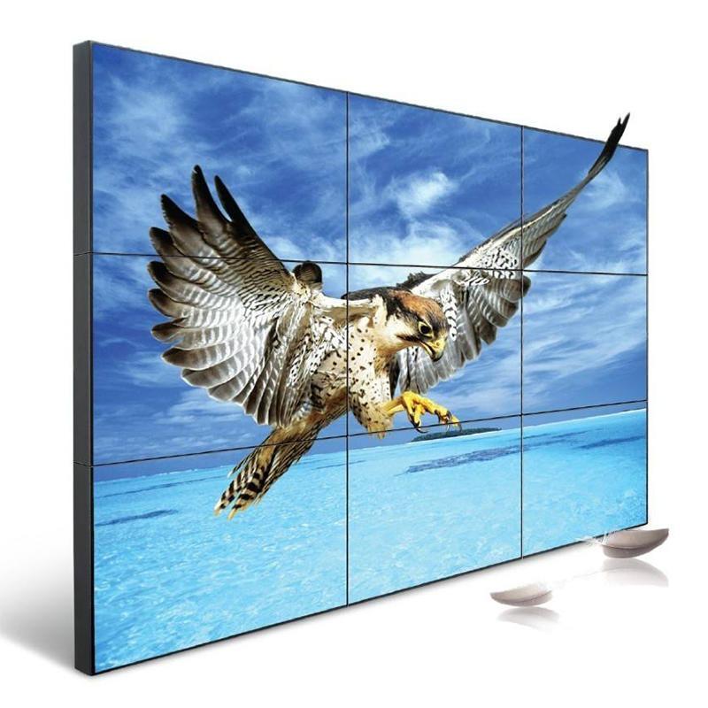 武汉49寸液晶拼接屏3.5拼缝拼接大屏 LG液晶屏电视拼接屏