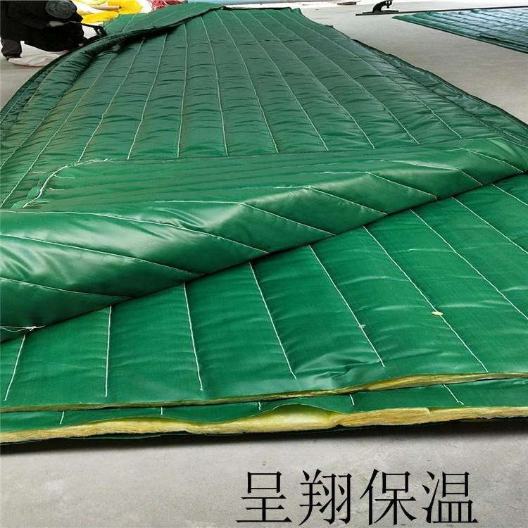 专业呈翔厂家 低价供应 加厚防寒保温被 桥梁防冻保温被