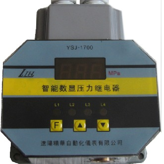 智能數顯壓力控制器   數顯壓力繼電器  壓力繼電器  壓力表圖片