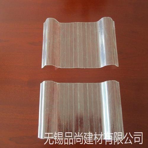 品尚加工840型透明瓦 玻璃钢平板厂房屋面 蔬菜大棚化工厂用采光瓦