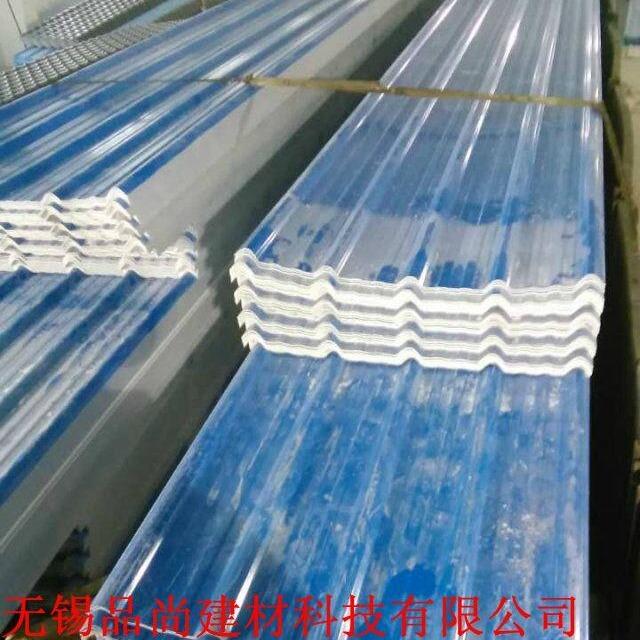 防腐瓦厂家 屋顶雨棚防腐彩钢瓦  厂房瓦屋面塑胶瓦