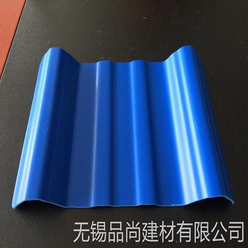 佛山PVC瓦屋面双层塑钢瓦 树脂防腐瓦 大棚塑料瓦