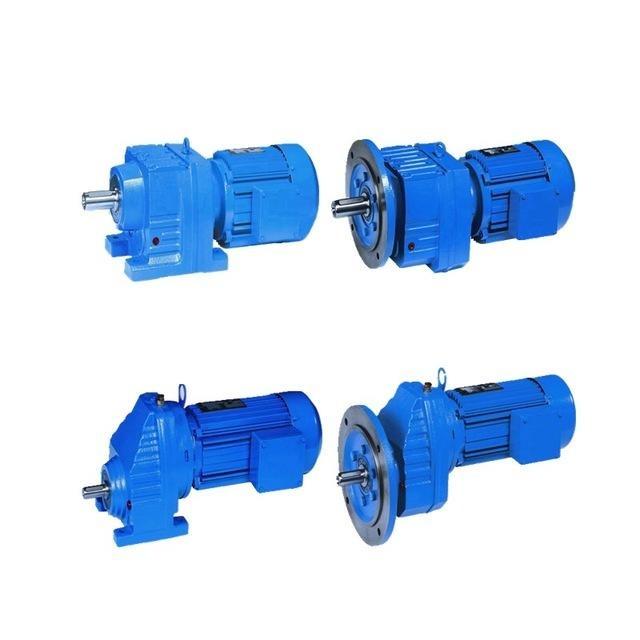 上坤 厂家硬齿面减速机 齿轮减速机工厂R/RF/RX/RXF37-187价格实在 型号多
