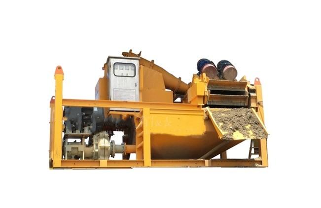 頂管泥漿處理方法 泥漿分離機  泥漿處理設備示例圖3