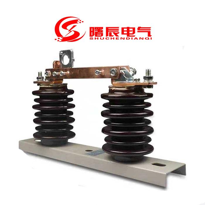 常规10KV高压隔离开关GW9-12/630A高压隔离刀闸示例图4