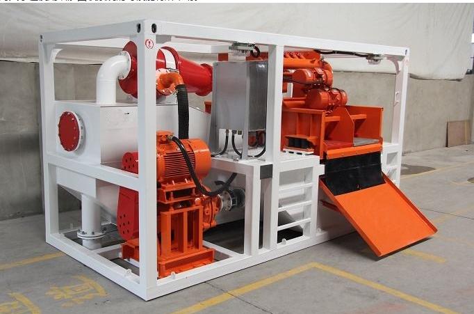 頂管泥漿處理方法 泥漿分離機  泥漿處理設備示例圖1
