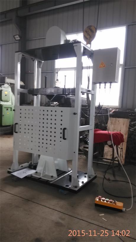 济南上地电子科技有限公司SD-CCJ-150车轮径向冲击试验机示例图1