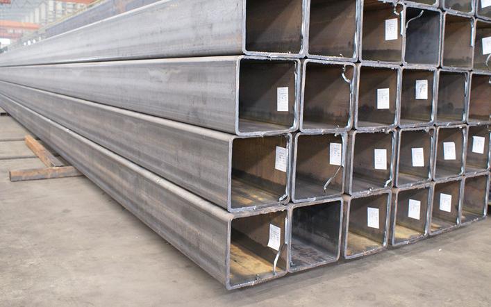 天津大口径厚壁方管厂家 一支起售 天津方形钢管厂家 天钢物铁示例图5