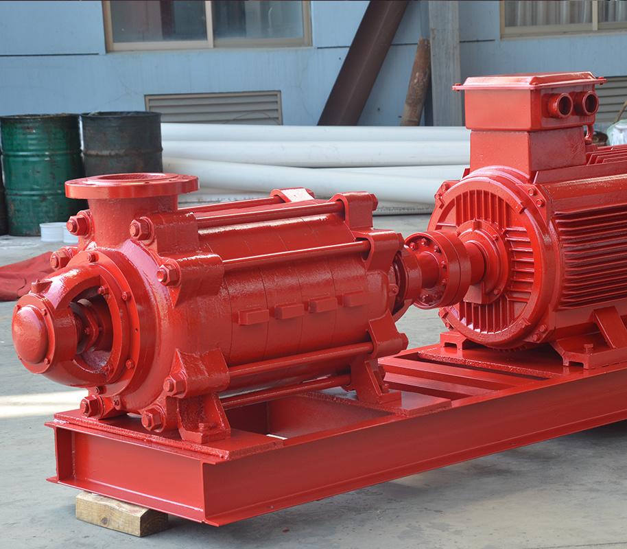 上海喜之泉XBD-D卧式多级消防泵组 卧式电动消防泵 消防设备,消防泵示例图1