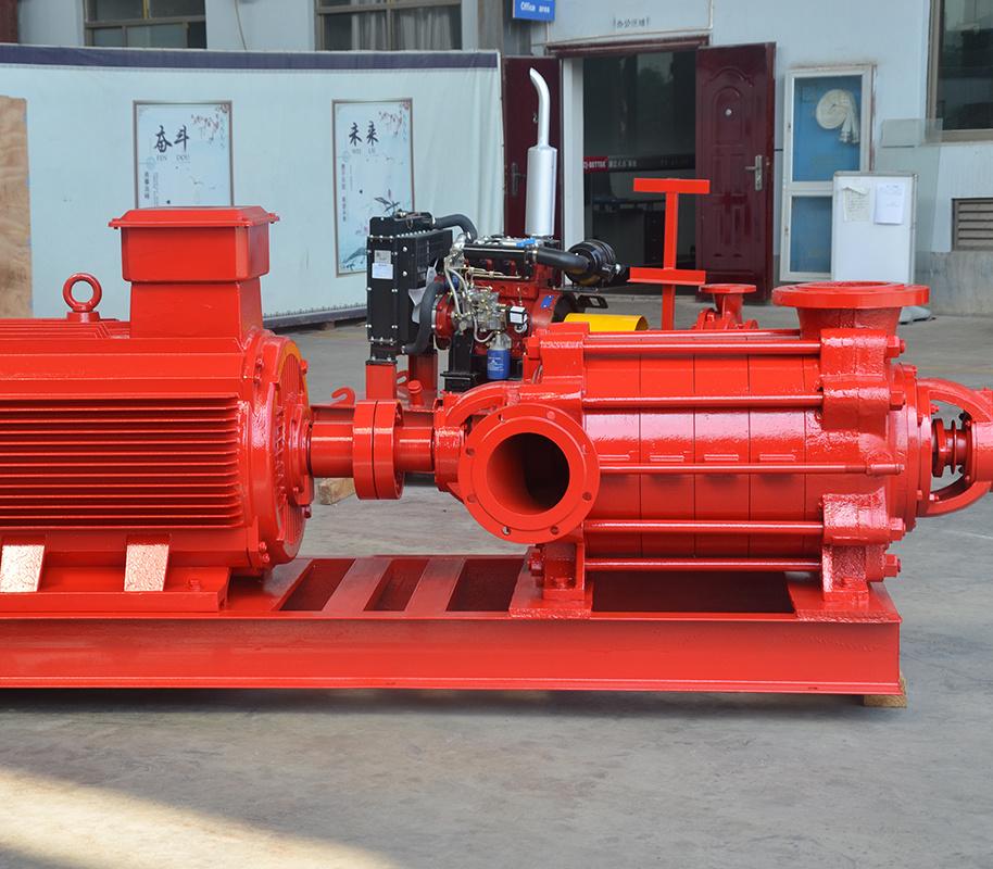 上海喜之泉XBD-D卧式多级消防泵组 卧式电动消防泵 消防设备,消防泵示例图3