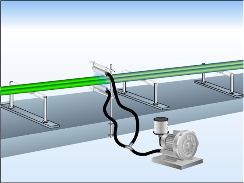 高精密铝合金风刀水滴式铝合金风刀玻璃吹水吹干专用风刀示例图8