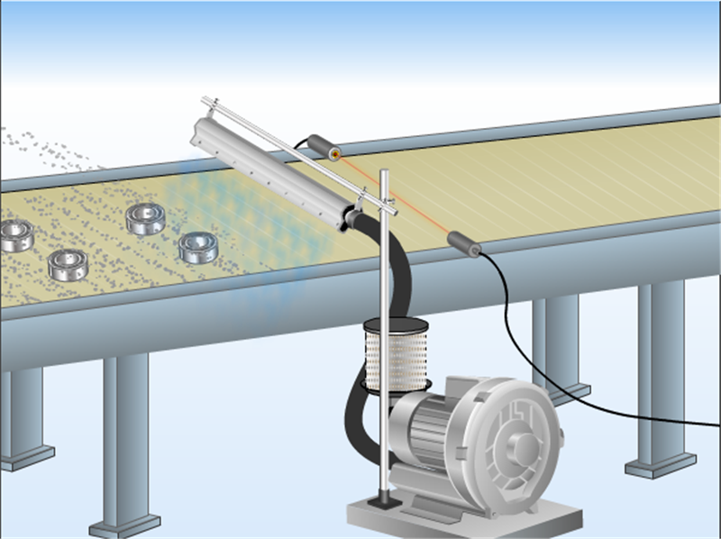 高精密铝合金风刀水滴式铝合金风刀玻璃吹水吹干专用风刀示例图6