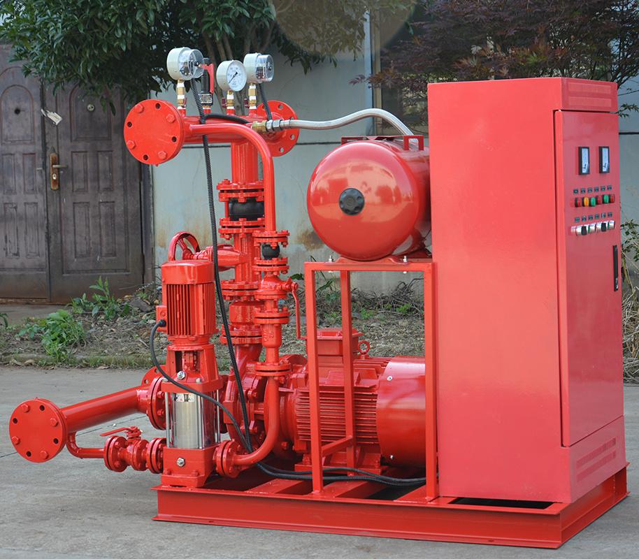 上海喜之泉EJ12.0/15-2-GPM250 双动力消防泵,30kw小型双动力消防泵,消防泵示例图3