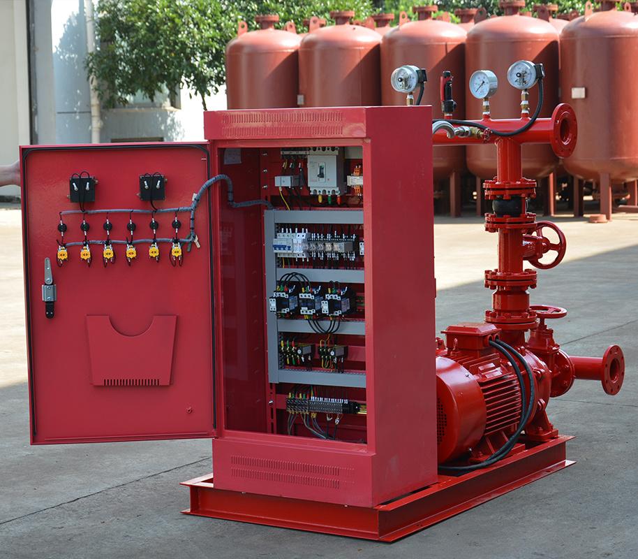 上海喜之泉EJ12.0/15-2-GPM250 双动力消防泵,30kw小型双动力消防泵,消防泵示例图2