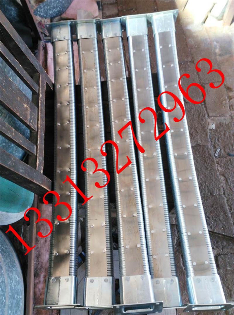长度可订制矩形金属软管  金属矩形管 穿线矩形管  多种接头可选 纯金属原材料制成示例图10