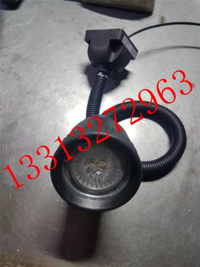昊旭品牌36VLED分散片照明灯 50D6珠软管万向灯 小方座工作灯 LED机床工作灯示例图3