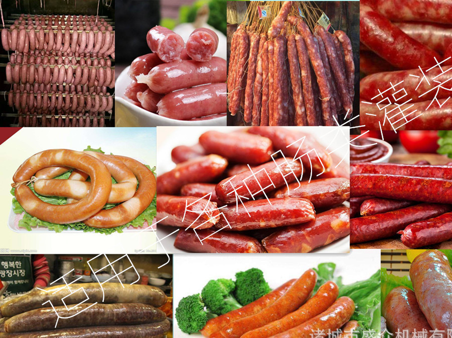哈尔滨红肠灌肠机 加工灌肠机肉肠灌肠机 可定制食品级304设备示例图2