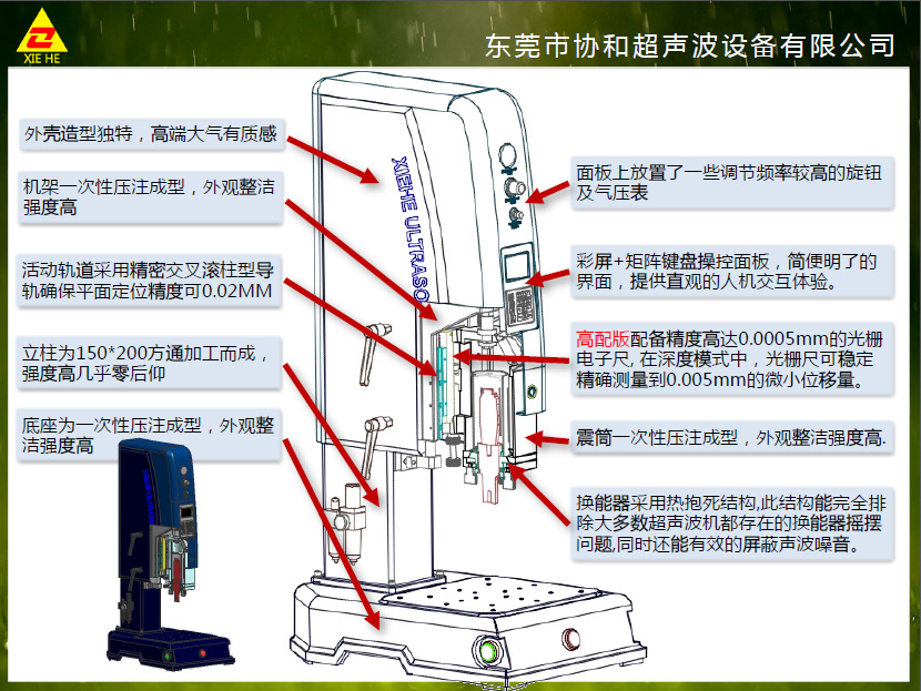协和大功率超声波机 20K15K设备俱全 协和塑胶焊机并代加工示例图12
