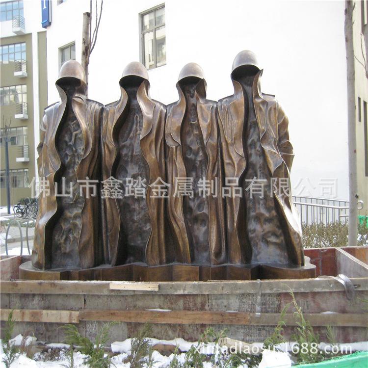 贵阳购物中心广场不锈钢雕塑专业生产厂家示例图17