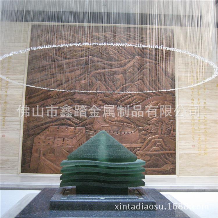 贵阳购物中心广场不锈钢雕塑专业生产厂家示例图18